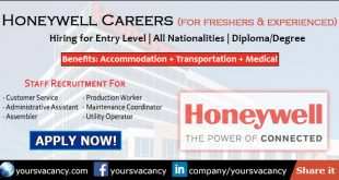 Honeywell Careers in United States, India & Worldwide • Sept