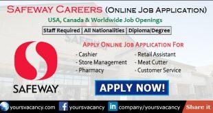 Safeway Careers in USA, Canada & Worldwide Apply Online