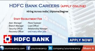 HDFC Bank Careers