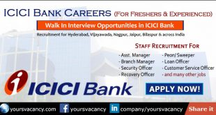 ICICI Bank Careers