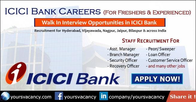 ICICI Bank Careers