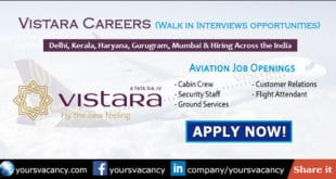 Vistara Careers